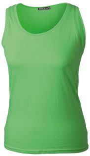 Damen Top Tank James Nicholson - lime green