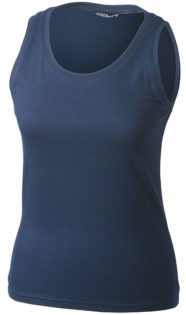 Damen Top Tank James Nicholson - navy