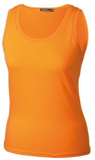 Damen Top Tank James Nicholson - orange