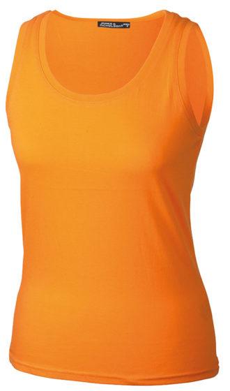 Damen Top Tank James Nicholson - orange