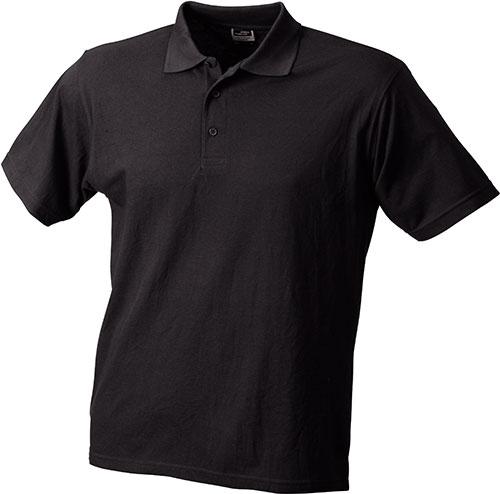 Poloshirts Worker - black