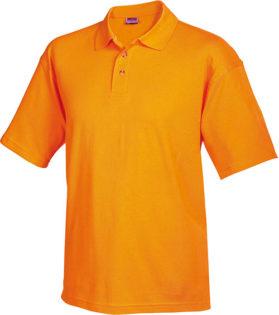Poloshirts Worker - orange