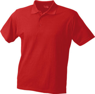 Poloshirts Worker - red
