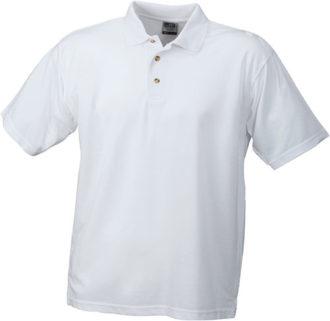 Poloshirts Worker - white