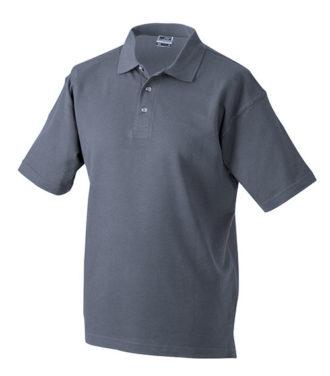 Polo-Pique Heavy - grey heather