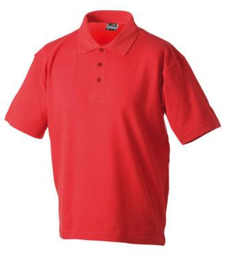 Polo-Pique Heavy - red