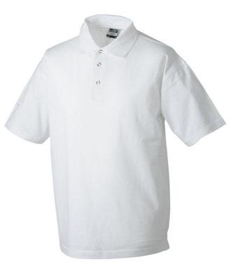 Polo-Pique Heavy - white