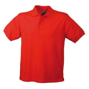 James Nicholson Poloshirt Classic - red