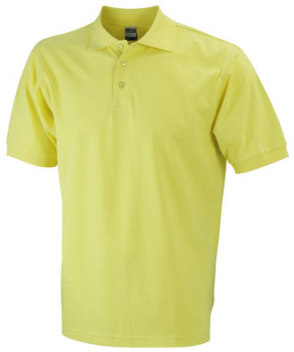 James Nicholson Poloshirt Classic - yellow