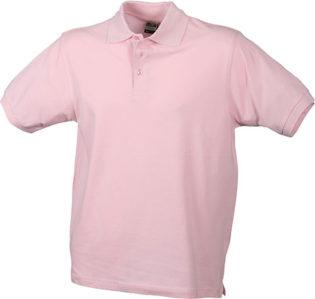 James Nicholson Poloshirt Classic - rose