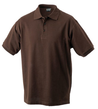 James Nicholson Poloshirt Classic - brown