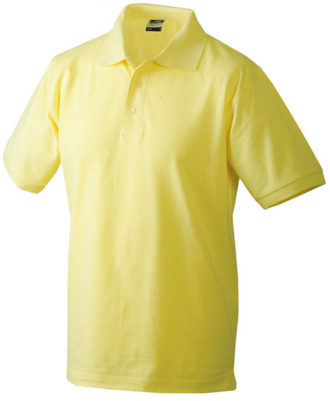 James Nicholson Poloshirt Classic - lightyellow