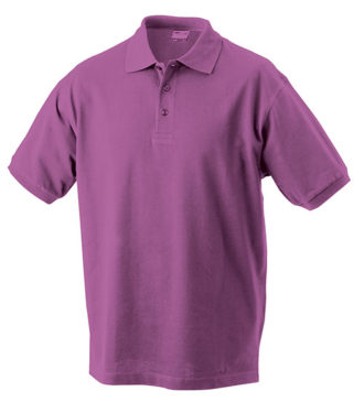 Werbeartikel Poloshirt Classic Junior - purple
