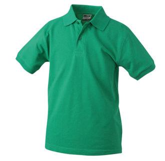 Werbeartikel Poloshirt Classic Junior - irishgreen