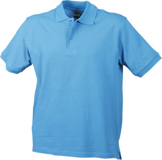 Werbeartikel Poloshirt Classic Junior - aqua