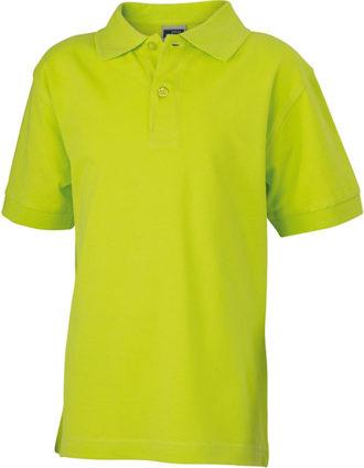 Werbeartikel Poloshirt Classic Junior - acidyellow