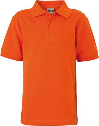 Werbeartikel Poloshirt Classic Junior - darkorange