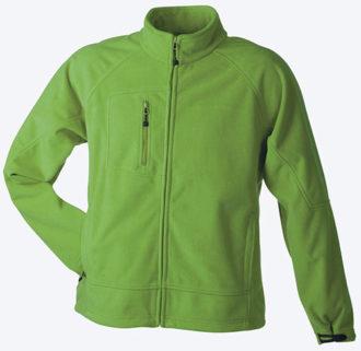 Men's Bonded Fleece - green/navy