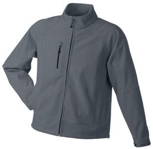 Men's Bonded Fleece - carbon/black