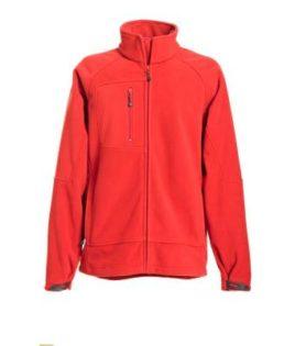 Men's Bonded Fleece - red/carbon