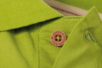 Werbetextilien Tight Fit Polo Vintage - limegreen