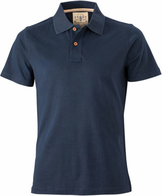 Werbetextilien Tight Fit Polo Vintage - navy