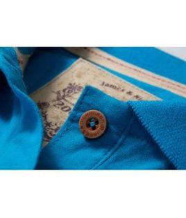 Werbetextilien Ladies Tight Fit Polo Vintage - royal