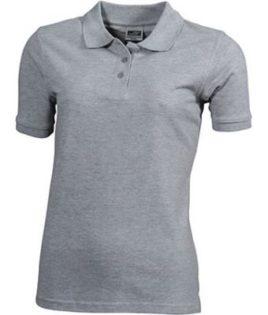 Workwear Polo Women - grey heather