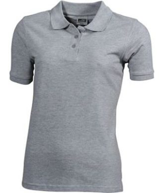 Workwear Polo Women - grey heather