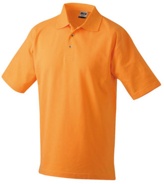 James & Nicholson Polo Pique Medium - orange