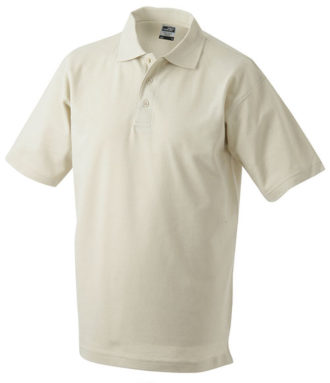 James & Nicholson Polo Pique Medium - stone