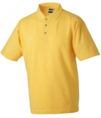 James & Nicholson Polo Pique Medium - goldyellow