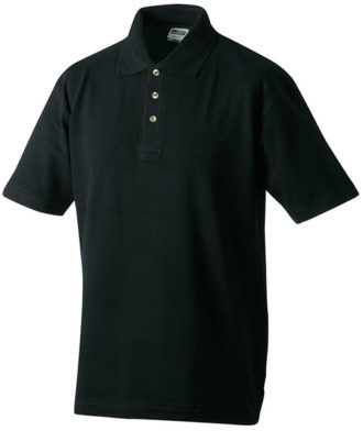 James & Nicholson Polo Pique Medium - black
