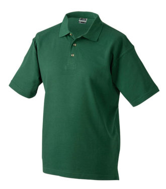 James & Nicholson Polo Pique Medium - darkgreen