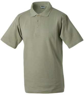 James & Nicholson Polo Pique Medium - khaki