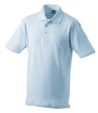 James & Nicholson Polo Pique Medium - lightblue