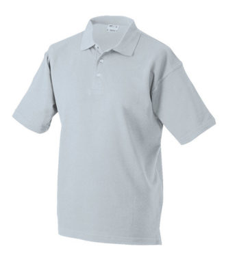 James & Nicholson Polo Pique Medium - lightgrey