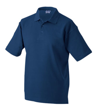 James & Nicholson Polo Pique Medium - navy
