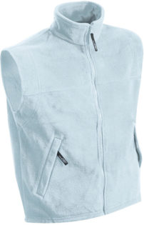 Ärmellose Fleeceweste Teamkleidung - light blue