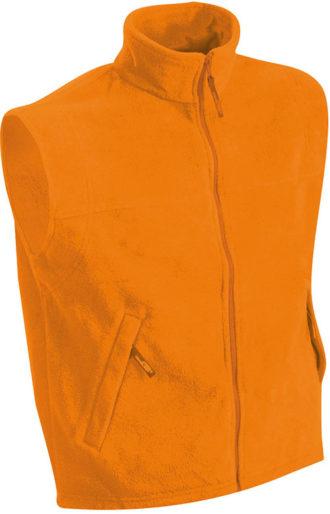 Ärmellose Fleeceweste Teamkleidung - orange