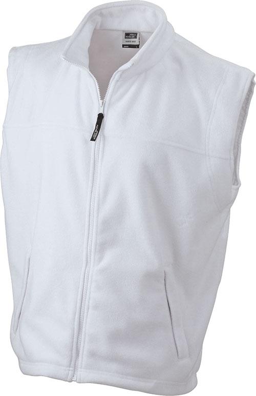 Ärmellose Fleeceweste Teamkleidung - white