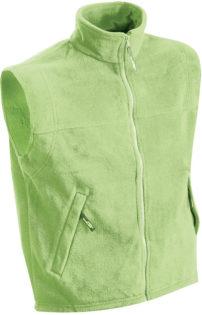 Ärmellose Fleeceweste Teamkleidung - lime green