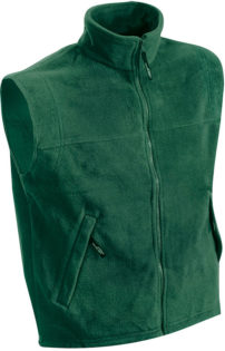 Ärmellose Fleeceweste Teamkleidung - dark green