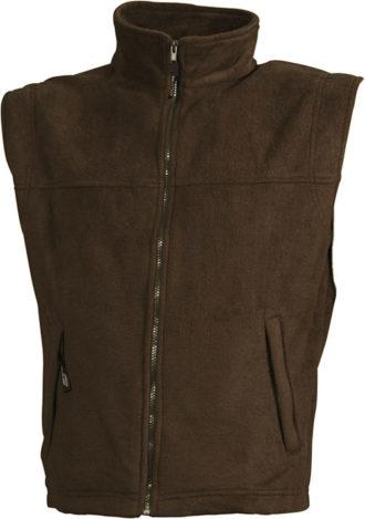 Ärmellose Fleeceweste Teamkleidung - brown