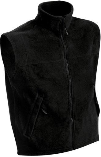 Ärmellose Fleeceweste Teamkleidung - black