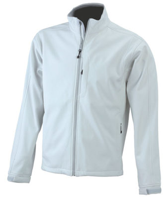 Softshell Jacke Mens Corporate - off white
