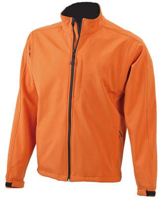 Softshell Jacke Mens Corporate - pop orange