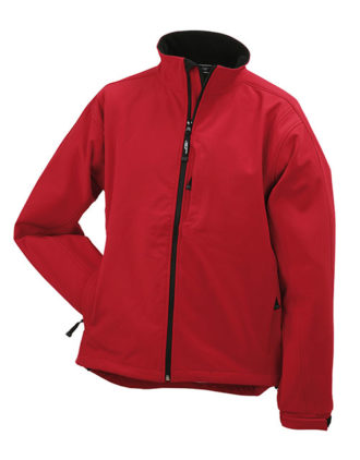 Softshell Jacke Mens Corporate - red