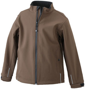 Softshell Jacke Mens Corporate - brown