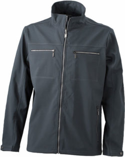 Herren Softshell Jacke Tailord James and Nicholson - graphit